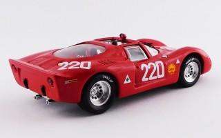 BEST9750 - ALFA ROMEO 33.2 - Targa Florio 1968 - Vaccarella / Schutz