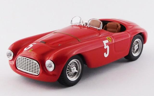 ART407 - FERRARI 166 MM BARCHETTA - G.P. Automobile Club France Comminges 1949 - Luigi Chinetti