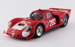 BEST9147/2 - ALFA ROMEO 33.2 - Targa Florio 1969 - Vaccarella / De Adamich