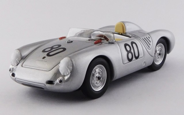 BEST9751 -PORSCHE 550 RS - Targa Florio 1958 - Scarlatti / Barth