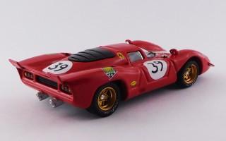 BEST9438/2 FERRARI 312 P - Le Mans 24 Hours 1970 - Adamowicz / Posey