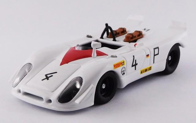 BEST9754 - PORSCHE 908/02 FLUNDER - Nurburgring 1000 Km. 1969 - Stommelen / Herrmann - R.R. 2nd.