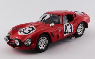 BEST9500 - ALFA ROMEO TZ2 - Le Mans 1965 - Zeccoli / Rosinski
