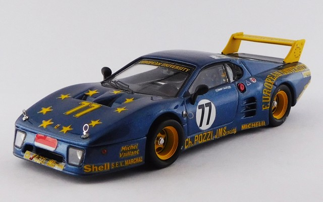 BEST9339 - FERRARI 512 BB LM 3 Serie - Le Mans 1980 - Andreut / Ballot / LŽna