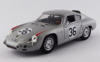 BEST9359 - PORSCHE 356B CARRERA GTL ABARTH - Le Mans 1961 - Linge / Pon