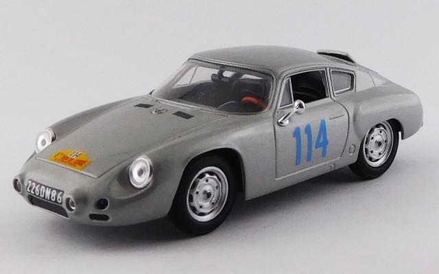 BEST9373 - PORSCHE 356B CARRERA GTL ABARTH - Tour de Corse 1960 - Bouchet / Mairesse