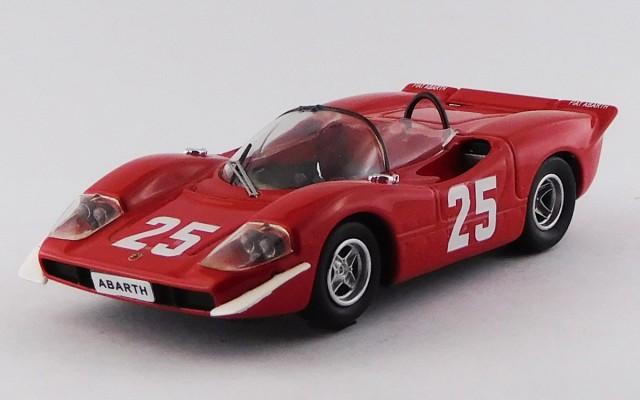 BEST9495 - ABARTH 2000 - Nurburgring 1969 - Hezemans