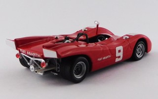 BEST9539 - ABARTH SP 2000 - Mugello 1970 - Vaccarella