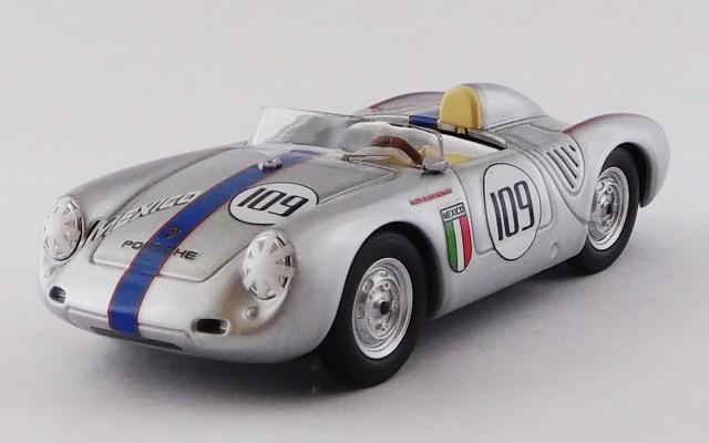 BEST9756 - PORSCHE 550 RS - Nassau Memorial Trophy Race 1957 - Ricardo Rodriguez - R.R. 4th