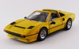 BEST9757 - FERRARI 208 GTS TURBO - 1983 - Giallo / Yellow