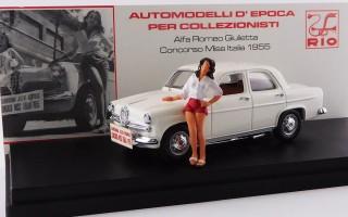 RIO4608/P - ALFA ROMEO GIULIETTA - Concorso Miss Italia 1955