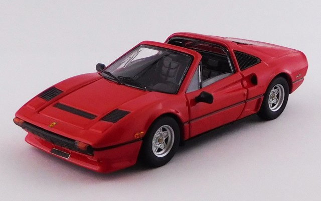 BEST9760 - FERRARI 208 GTS TURBO - 1983 - Rosso / Red