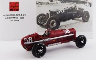 RIO4609 - ALFA ROMEO P3 - Indy 500 Miles 1939 - Luis Tomei