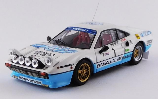 BEST9761 - FERRARI 308 GTB - Critèrium Luis de Baviera 1984 - Zanini / Autet - Winner