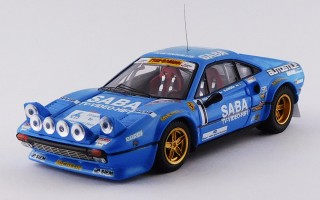 FERRARI 308 GTB - Rally 1000 Miglia 1983 - Busseni - Ciocca