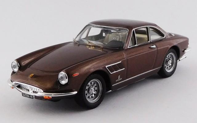 BEST9772 - FERRARI 330 GTC 1969 - Marrone / Brown