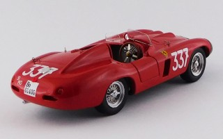 FERRARI 857 S - Giro di Sicilia 1956 - Collins / Klementasky
