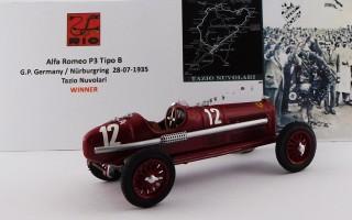 RIO4178/2 - ALFA ROMEO P3 TIPO B - G.P. di Germania 1935 Nürburgring - Tazio Nuvolari