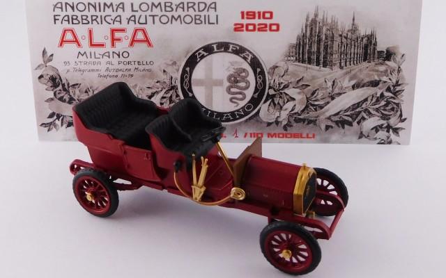 RIO4626 - ALFA ROMEO 24 HP TORPEDO - 1910 - 110° Anniversary Alfa Romeo 1910/2020 - Limited Edition 110 pcs.
