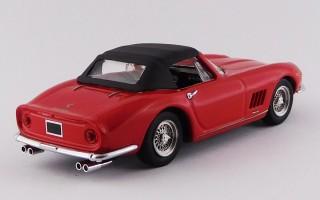 BEST9781- FERRARI 275 GTB/4 NART SPYDER - con capotta rosso / red 1967