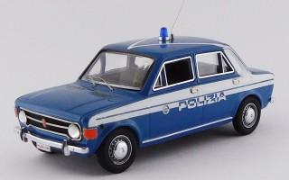 RIO4167/2 FIAT 128 - 4 PORTE - Blu Polizia Stradale 1970