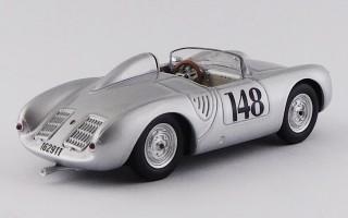 BEST9786 - PORSCHE 550 RS - Aosta / Gran San Bernardo 1957 - Wolfgang von Trips N 148 2nd