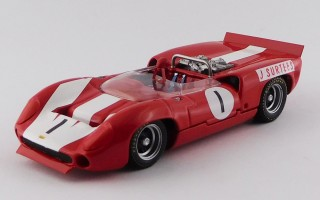 BEST9644 - LOLA T70 COUPE' - Sebring 12 Hours 1968 - Bonnier/Axelsson