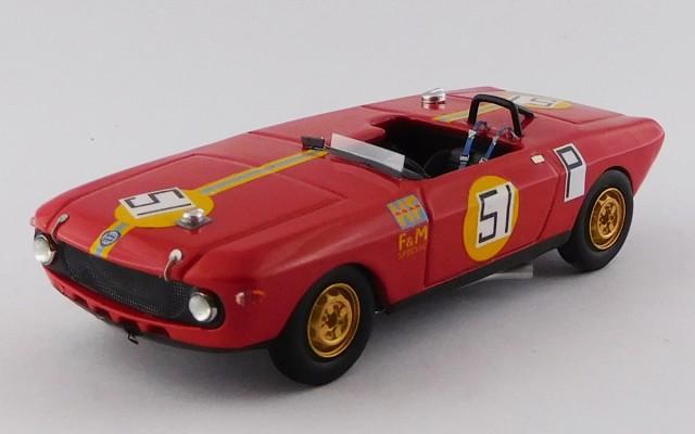 BEST9788 - LANCIA FULVIA F&M SPECIAL HF - 1000 Km Nurburgring 1969 - Maglioli / Pinto