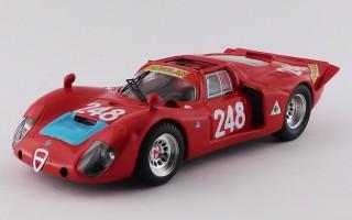 BEST9137/2 - ALFA ROMEO 33.2 - Targa Florio 1969 - Pinto / Alberti N 248