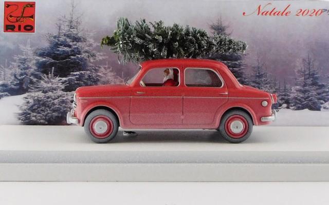 RIO4637/P - FIAT 1100 / 103 TV - Natale 2020