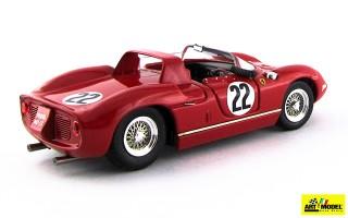 ART135 - FERRARI 275 P Rosso - Le Mans 1963 - Parkes / Maglioli