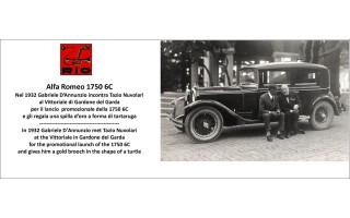 RIO4639/P - AALFA ROMEO 1750 6C - 1932 - Gabriele D'Annunzio / Tazio Nuvolari