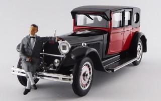 RIO4645/P- BUGATTI TYPE 41 ROYALE 1927 + Mr. Bugatti figure