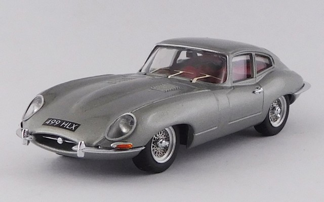 BEST9797 - JAGUAR E TYPE COUPE'- George Harrison Personal car 1964 - Opalescent Silver Grey Metallic