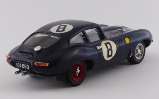 BEST9161/2 - JAGUAR E TYPE COUPE'- 24H Le Mans 1962 - Charles / Coundley N8