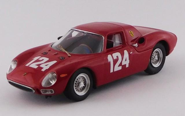 BEST9799 - FERRARI 250 LM - G.P. Mugello 1965 - Casoni / Nicodemi N124 WINNER