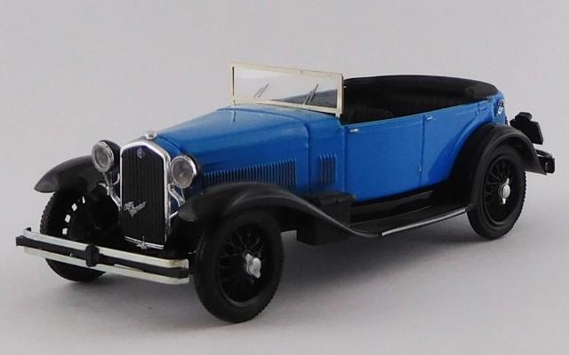RIO4648 - ALFA ROMEO 1750 TORPEDO - 1930 - Blu e Nero