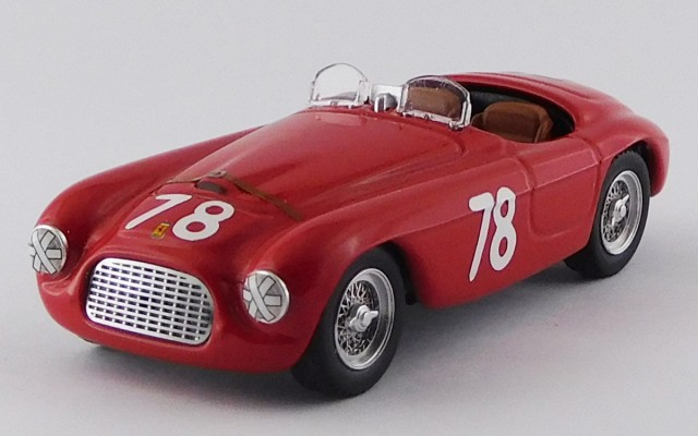 ART426 - FERRARI 166 MM BARCHETTA - Coppa d'oro di Sicilia 1951 Siracusa - Paolo Marzotto