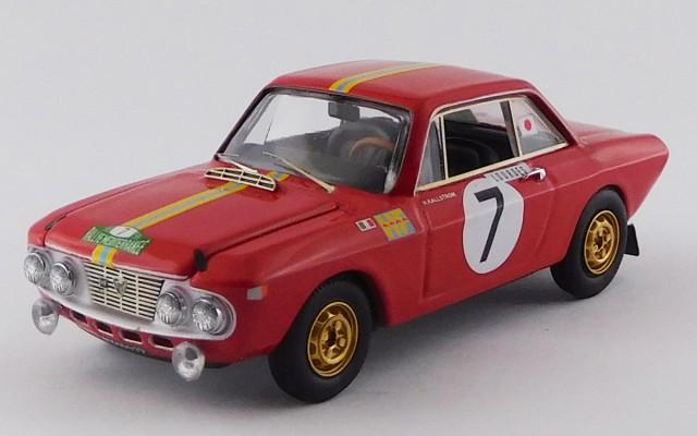 BEST9803LANCIA FULVIA 1,3 COUPE' HF - Rallye Mèditerranèe 1969 - Källström / Gunnar - Winner