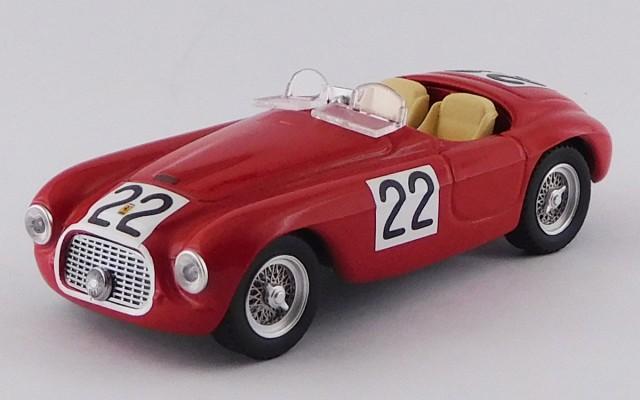 ART011/2 FERRARI 166 MM BARCHETTA -24h Le Mans 1949 - Chinetti / Seldson