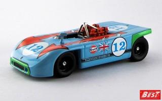 BEST9039 - PORSCHE 908-03 - Targa Florio 1970 - Siffert / Redman