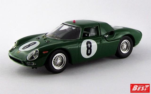 BEST9054/2 - FERRARI 250 LM - Nurburgring 1965 - Piper / Maggs