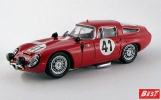 BEST9097 - ALFA ROMEO TZ1 - Le Mans 1964 - Biscaldi / Sala