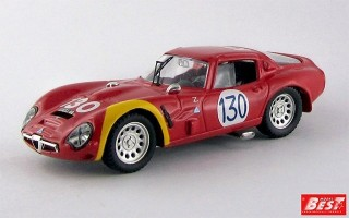 BEST9104 - ALFA ROMEO TZ2 - Targa Florio 1966 - Bianchi / Bussinello
