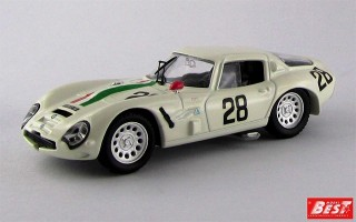BEST9118 - ALFA ROMEO TZ2 - Monza 1967 - De Leonibus / Di Bona