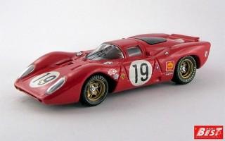 BEST9152 - FERRARI 312 P COUPE' - Le Mans 1969 - Amon / Schetty