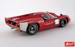 BEST9156 - LOLA T 70 COUPE' - 1967 - Prova