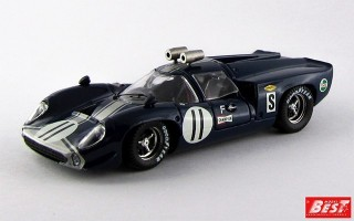 BEST9172 - LOLA T 70 COUPE' - Sebring 1968 - De Udy / Dibley
