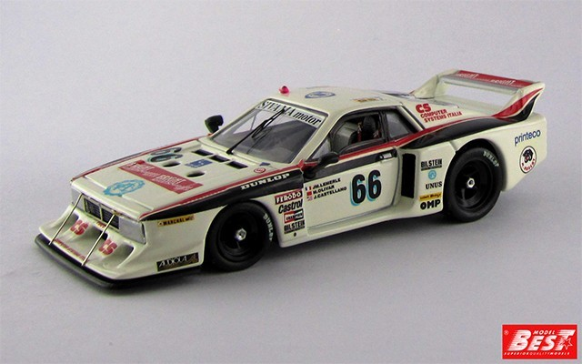 BEST9212 - LANCIA BETA MONTECARLO TURBO - Le Mans 1982 - Lamerle / Olivar / Castellano