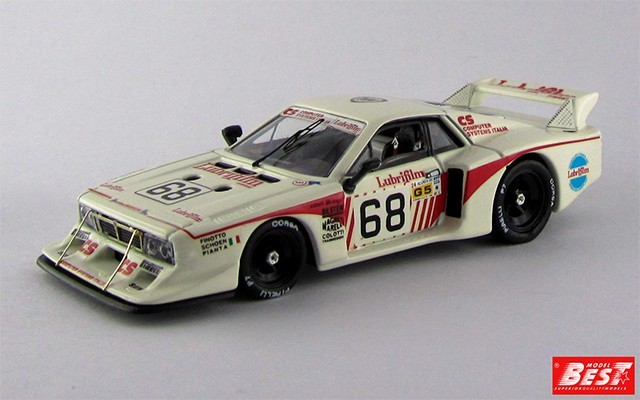 BEST9217 - LANCIA BETA MONTECARLO TURBO - Le Mans 1981 - Finotto / Pianta / Schoen